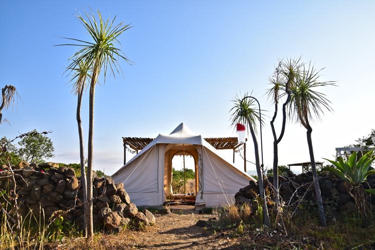Touareg Tent entrance