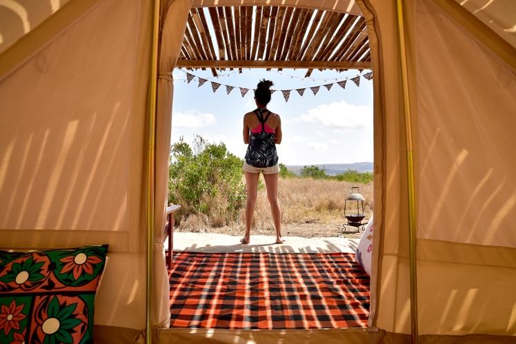 Touareg Tent morning