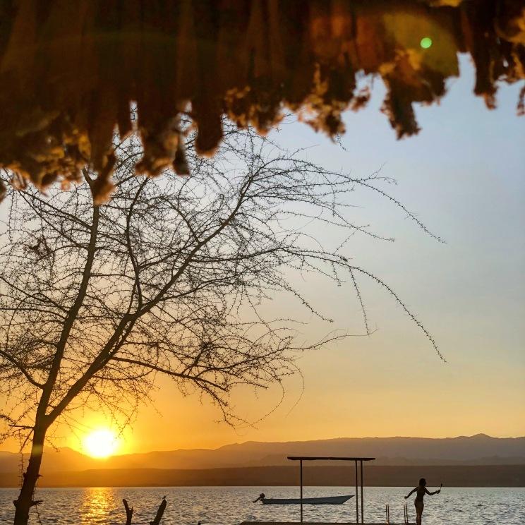 Sunset at Samatian