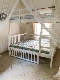 The second room with bunk beds